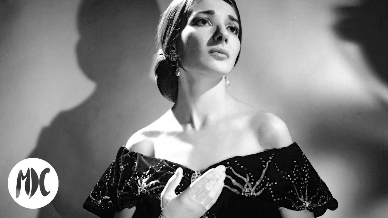 Maria Callas, Maria Callas en cuatro canciones