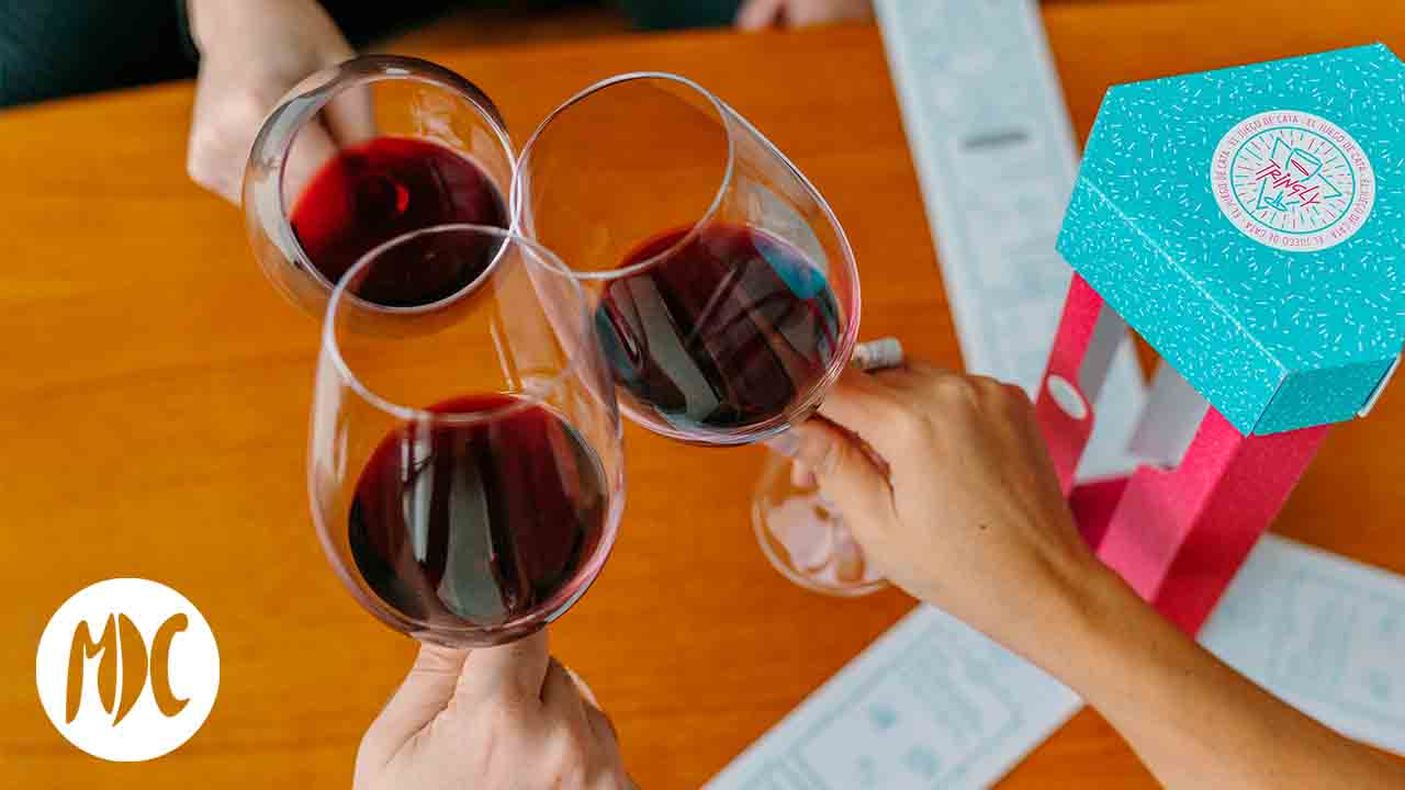 vino, Tringly: un juego basado en el mundo del vino
