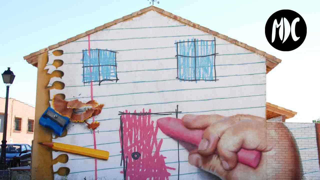 arte, Sr. Momán, arte grandilocuente en un pequeño pueblo segoviano