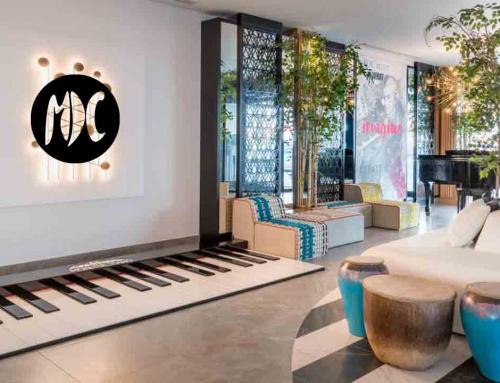 Music Cardio, un piano gigante te da la bienvenida al hotel más musical