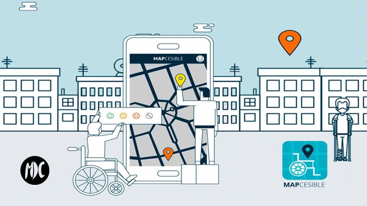 Mapcesible, Mapcesible, una aplicación colaborativa por la accesibilidad