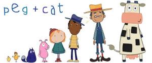 Peg + gato + personajes que les acompañan