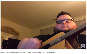 Wonderwall Vocal Cover