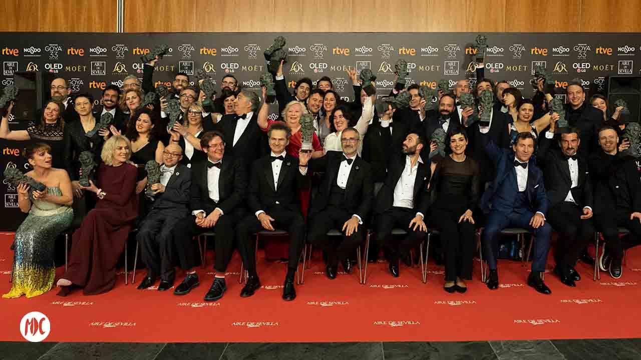 Premios Goya®, 33 Edición de los Goya®: estos son los ganadores