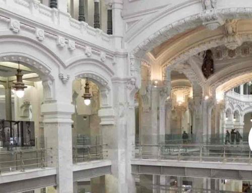 El Palacio visto por… Uno de los edificios más emblemáticos de Madrid bajo la mirada de un artista.