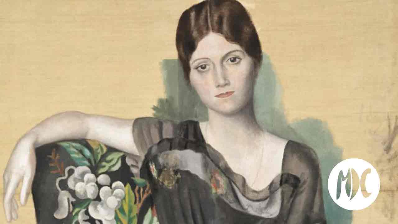 Picasso, Olga Kokhlova y Pablo Picasso, la feliz vida cotidiana.