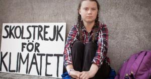Una imagen de Greta Thunberg