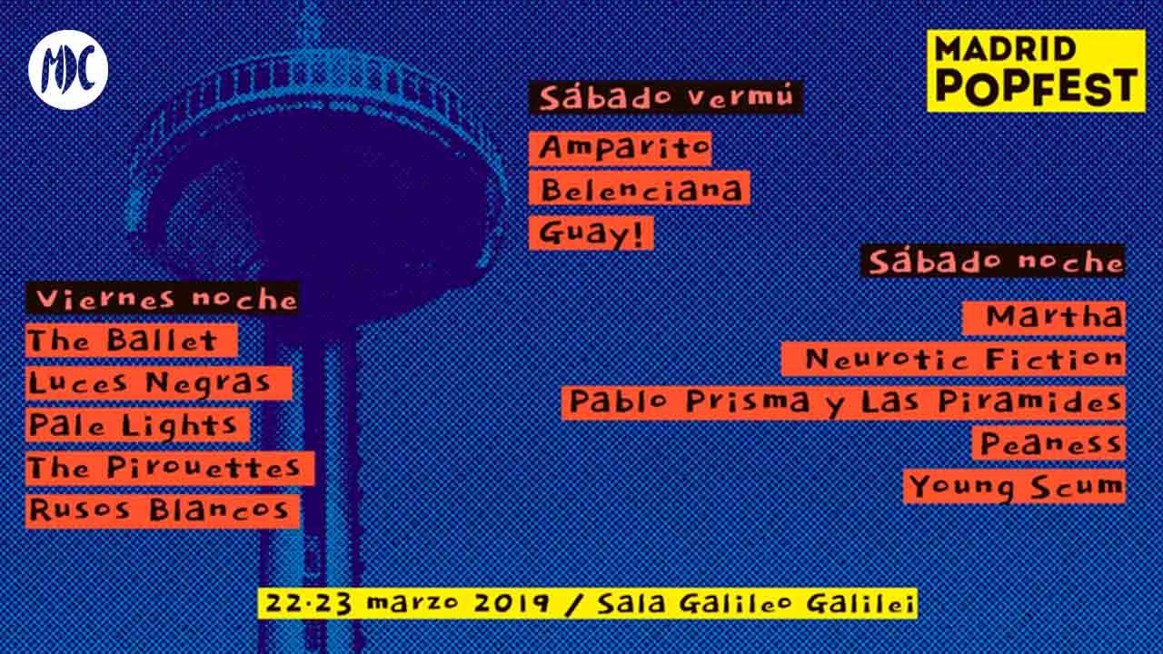 Madrid Popfest, Indie Pop a raudales en el Madrid Popfest