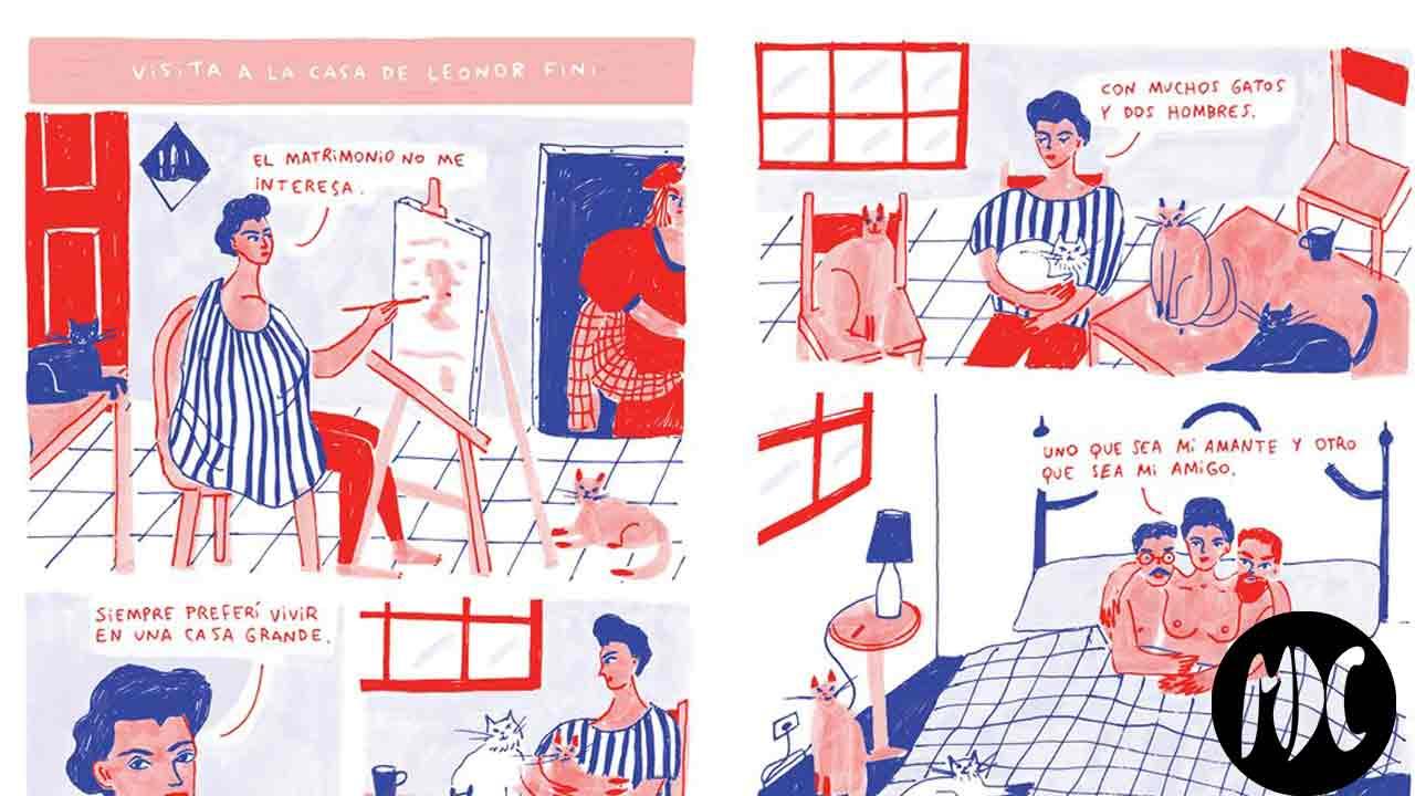 pintores, La vida mundana de los pintores vista por María Luque