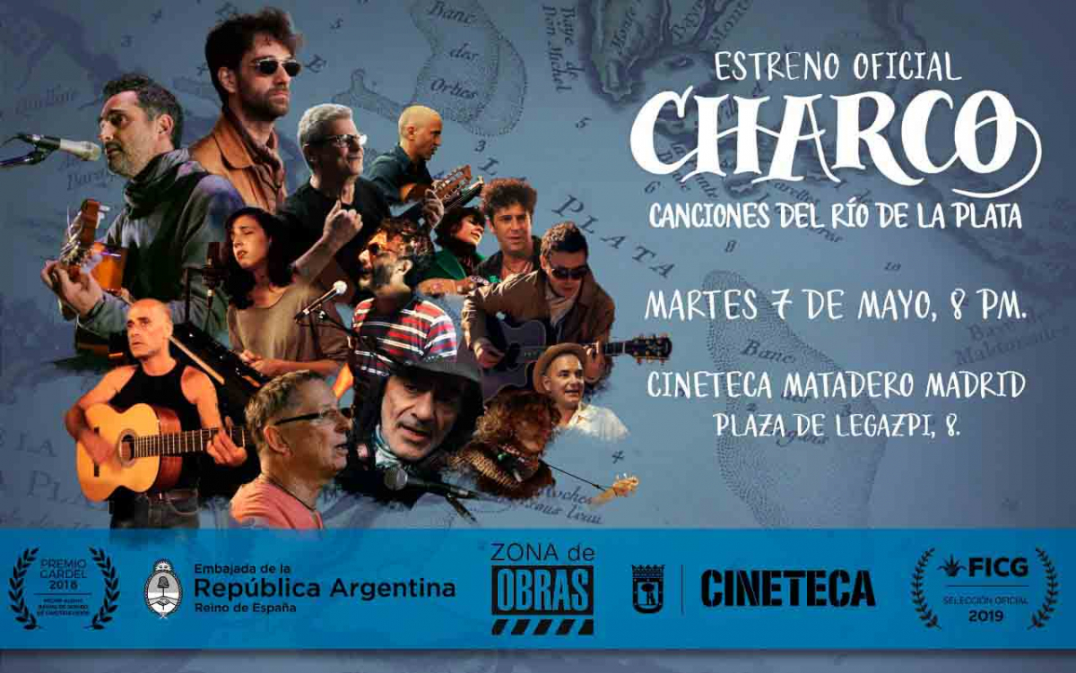 CHARCO, Charco, un documental sobre la música del Río de la Plata
