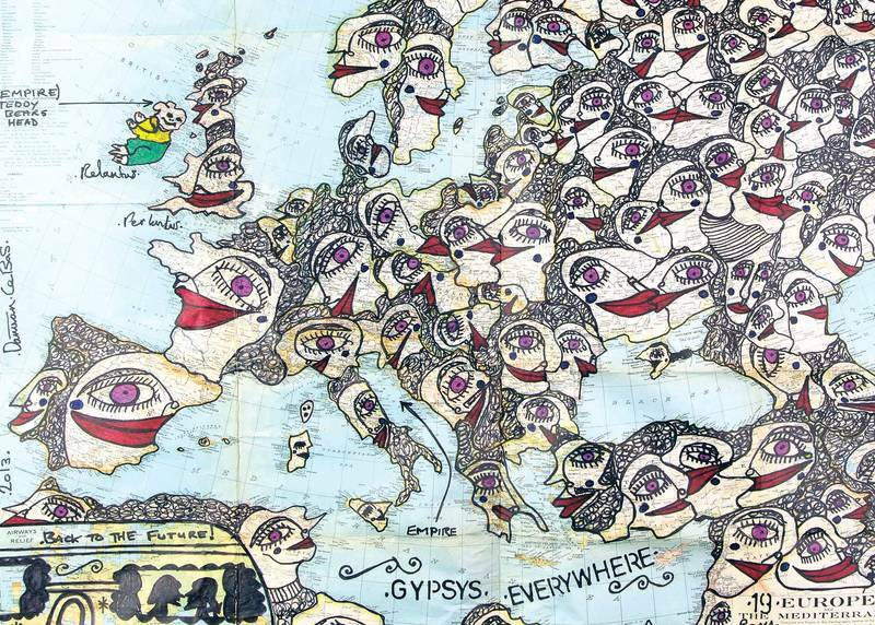 gitano, Aquí nos quedamos, salud y libertad» para el arte gitano