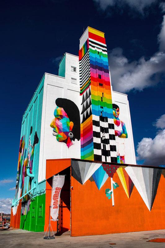 Titanes, Titanes, el arte urbano invade las llanuras de Ciudad Real