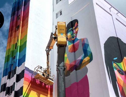 Titanes, el arte urbano invade las llanuras de Ciudad Real