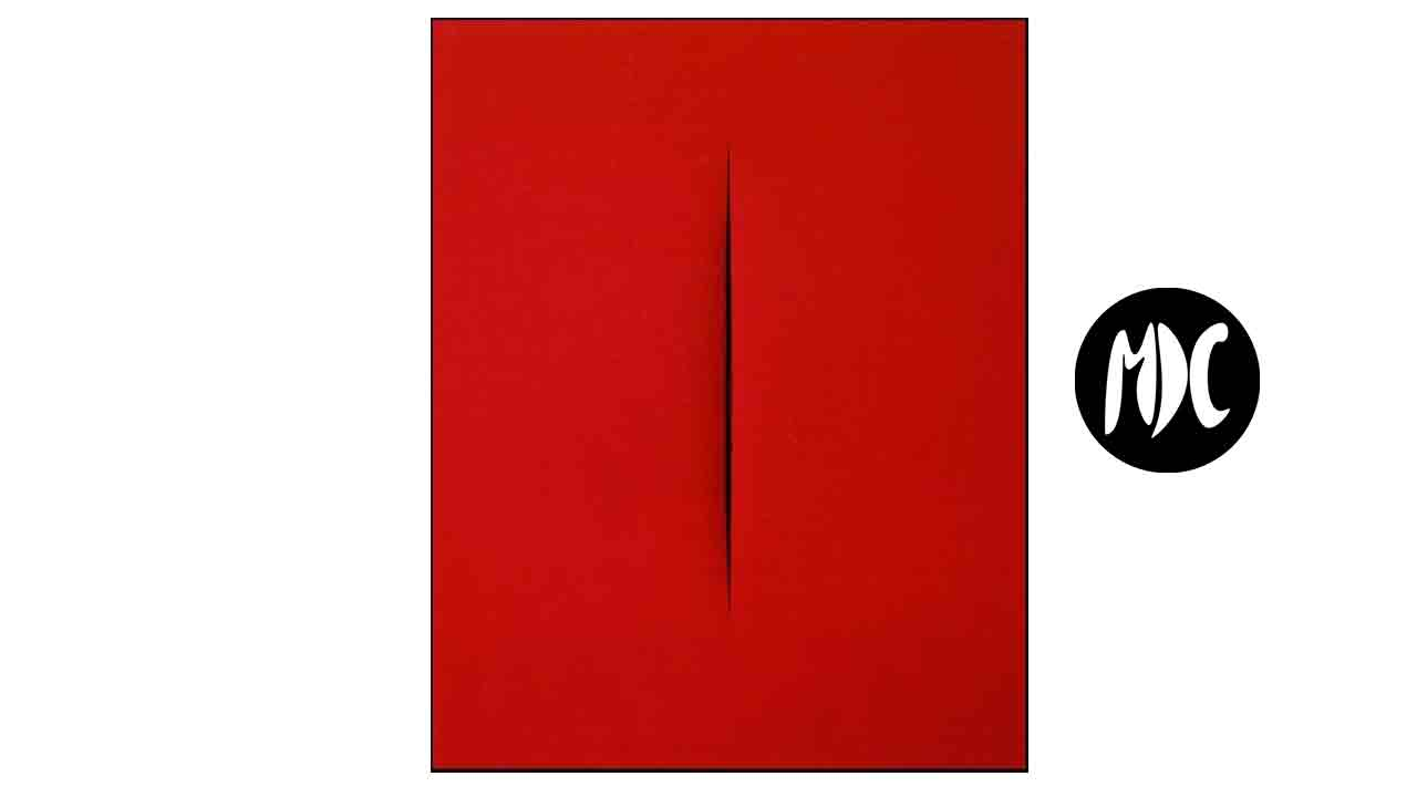 Lucio Fontana, La incisión propuesta por Lucio Fontana como metáfora del origen