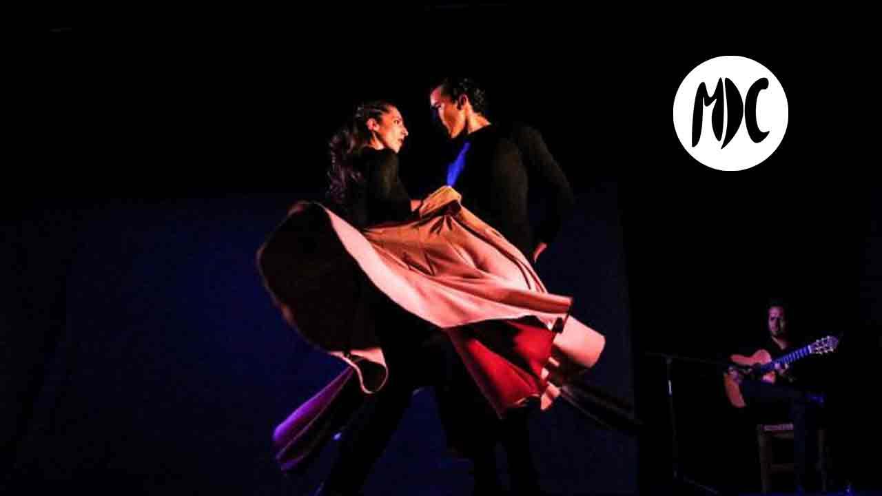 espectáculo, Mimenko. Mimo y flamenco que hablan de amor.