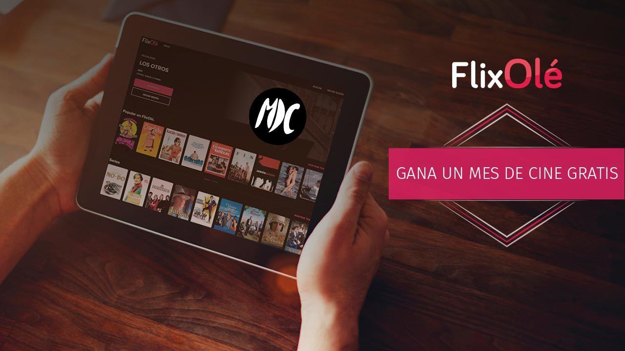 FlixOlé, Sorteo: un mes de cine gratis con FlixOlé