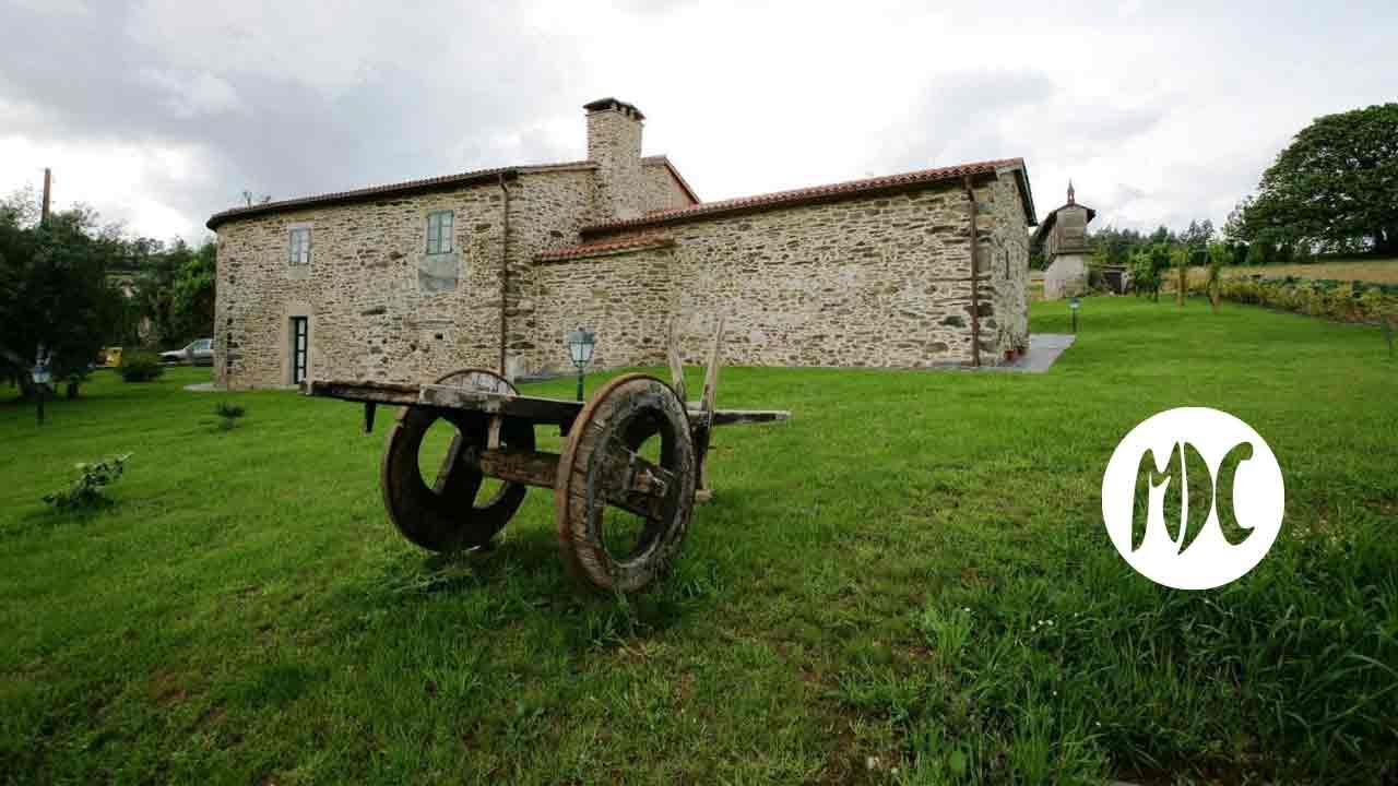 turismo rural, Casa da Igrexa. Descansar en el verde gallego.
