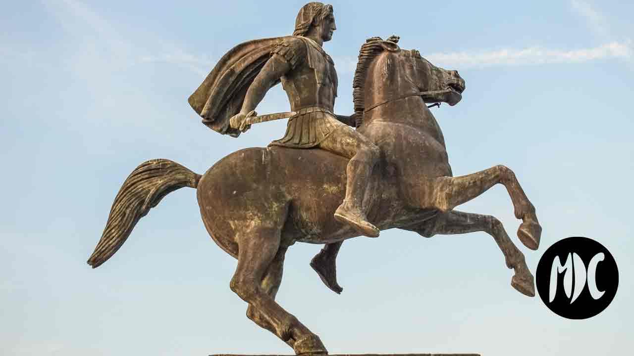 Alejandro Magno, El último cortejo. En las entrañas de Alejandro Magno