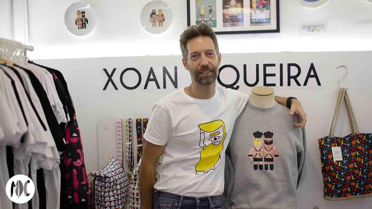 Xoan Viqueira, Xoan Viqueira, objetos ilustrados para llevarte puestos