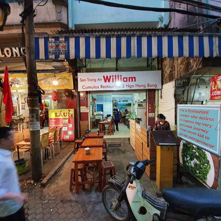 Restaurante Cumulus en Hanói, Vietnam