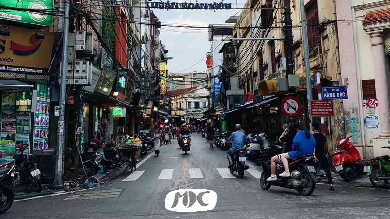 Calles de Hanoi, Vietnam. Fotografía: Lydia Gracia
