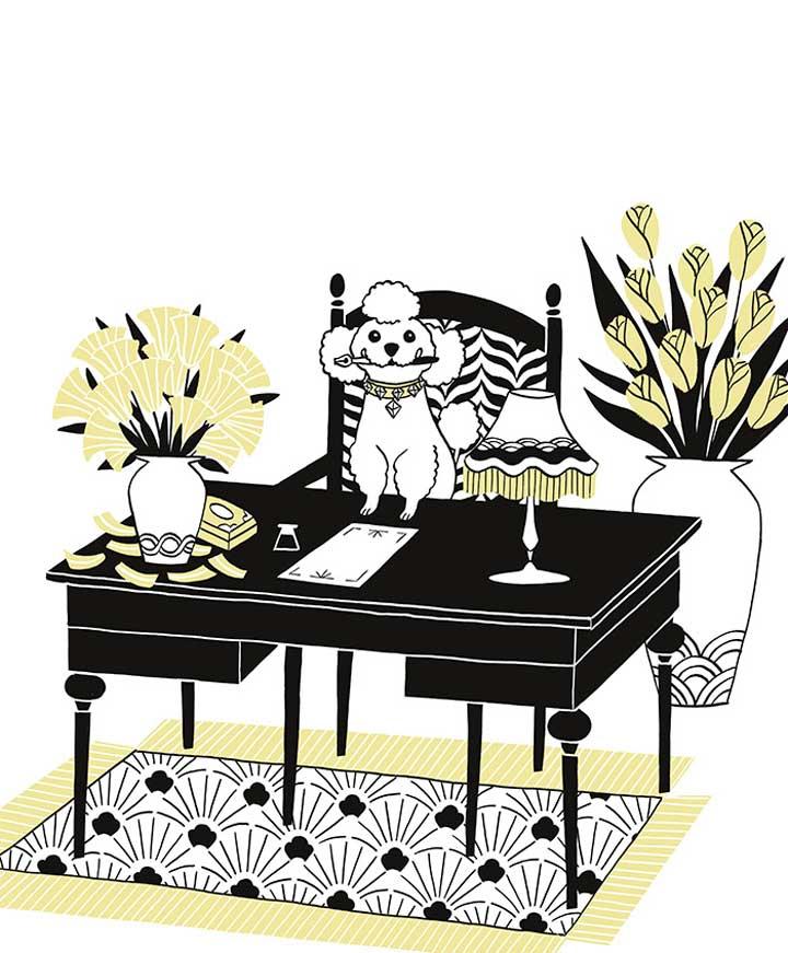 Ilustración para epílogo de Laura Pacheco.