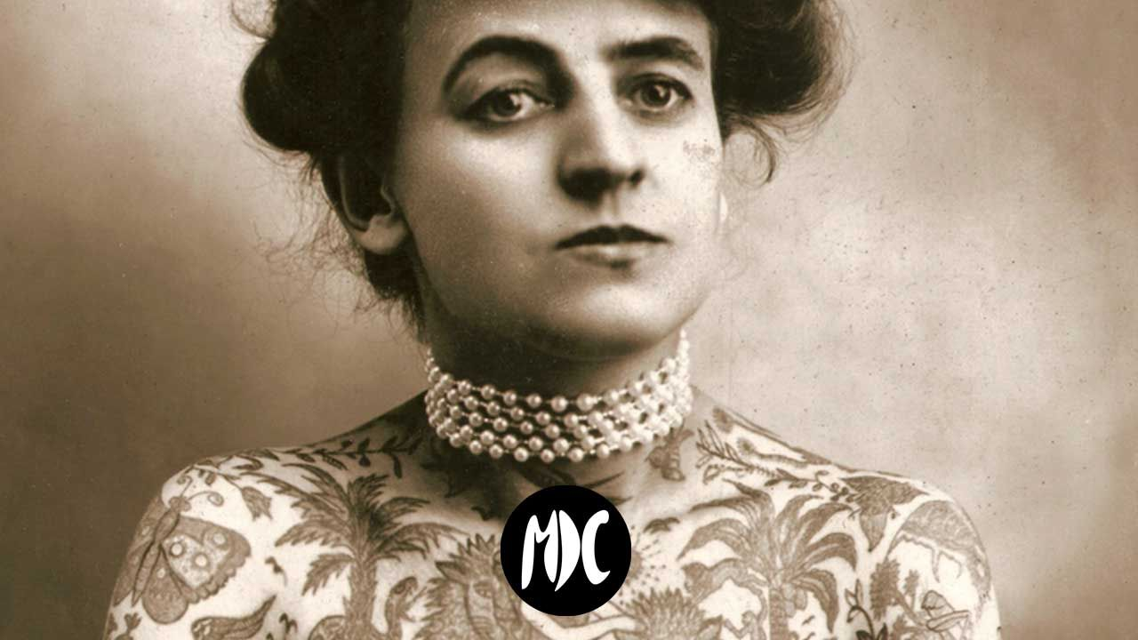 Maud Stevens Wagner tatuaje, Maud Stevens Wagner, la primera tatuadora profesional