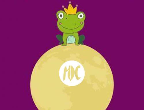 Una rana en la luna. Pura magia teatral para espectadores bebés.