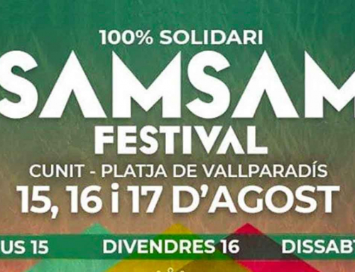 SAM SAM FESTIVAL. El festival solidario de Cunit