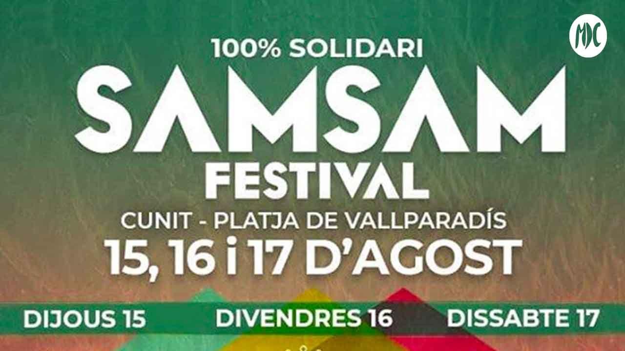SamSam, SAM SAM FESTIVAL. El festival solidario de Cunit