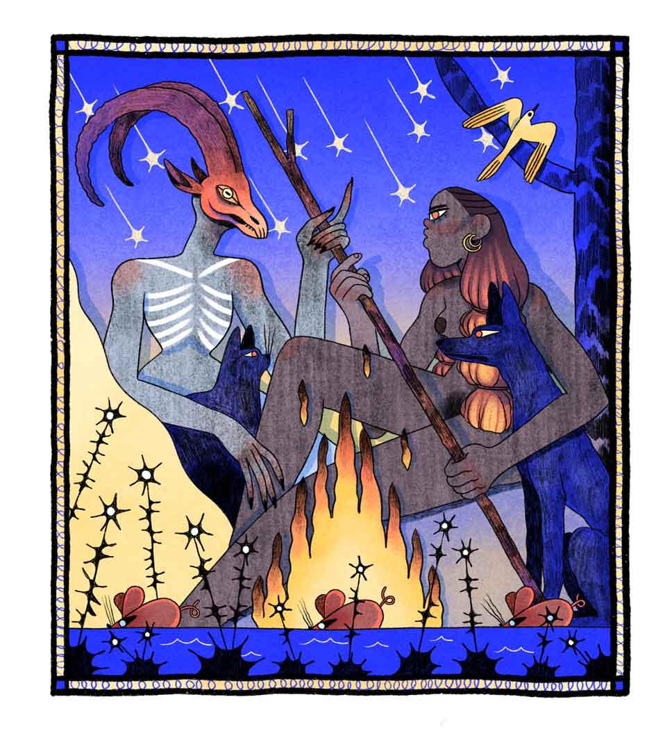 Ilustración de Núria Tamarit