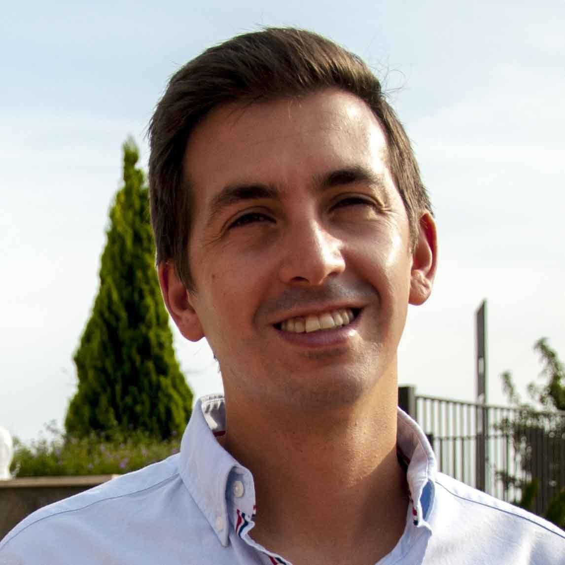 "Ramón Calatayud, autor de ""Secreto de confesión""."