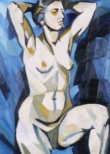 Desnudo de Natalia Goncharova