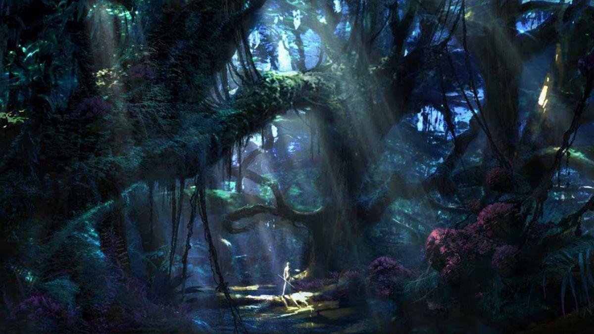Felipe Pesántez trabaja en la ambientación de películas como Avatar 2. Fotograma de la primera película.