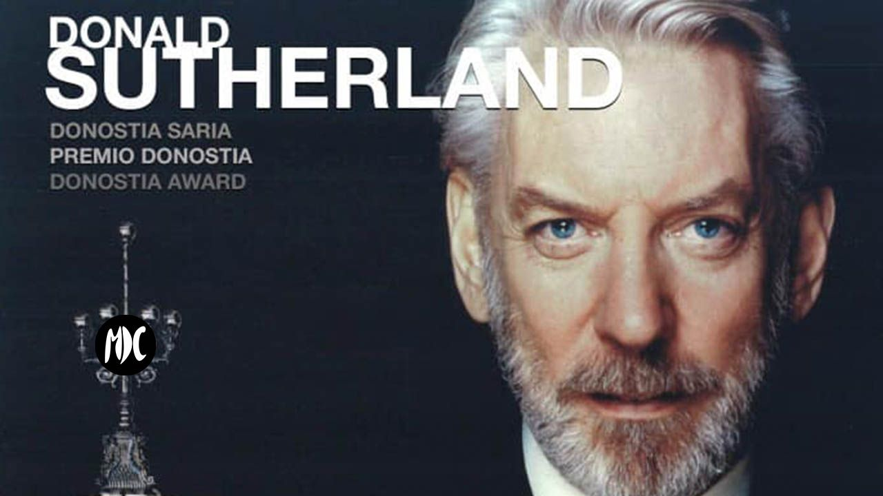 Donald Sutherland, Donald Sutherland, merecidísimo Premio Donostia