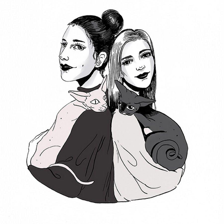 Dibujo de Jessica y Carla (Reinas y Repollos)