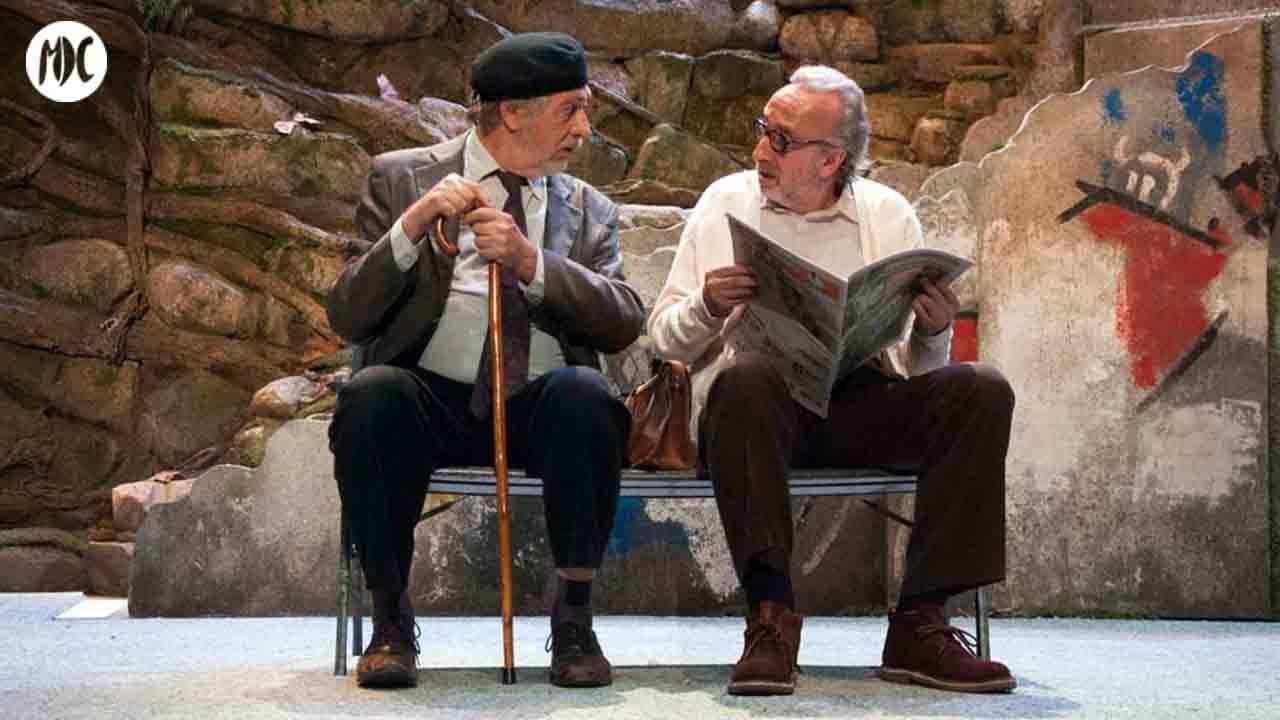 Luis Brandoni y Eduardo Blanco