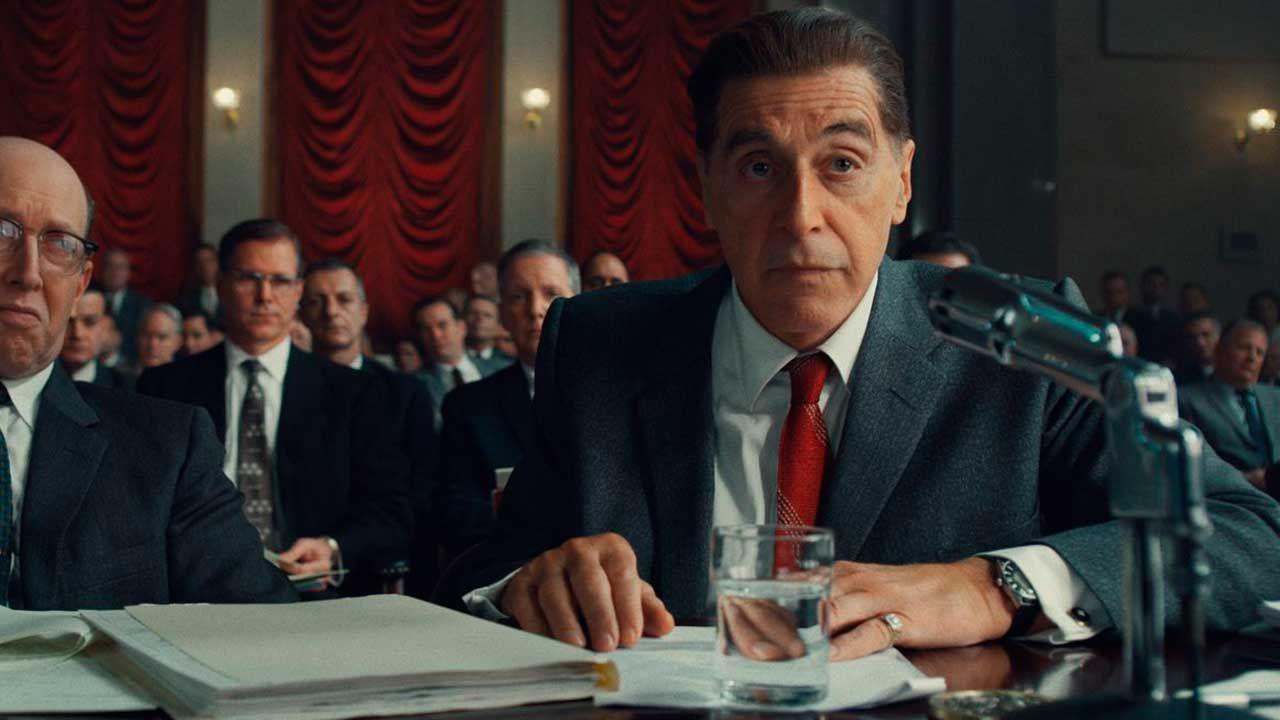 """Al Pacino en la película """"El Irlandés"""""""