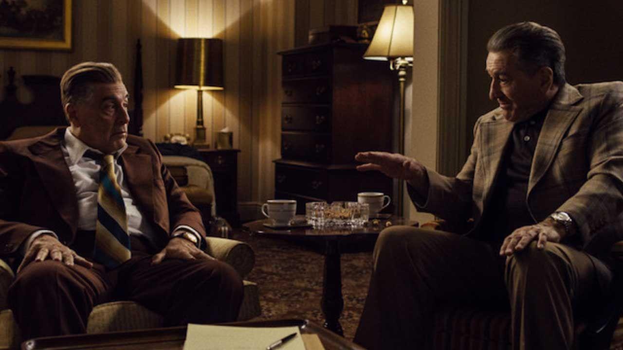 """Al Pacino y Robert de Niro en la película """"El Irlandés"""""""