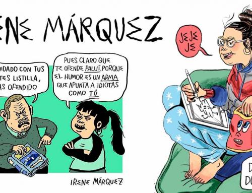 Irene Márquez, humor macabro contra todos y contra nadie