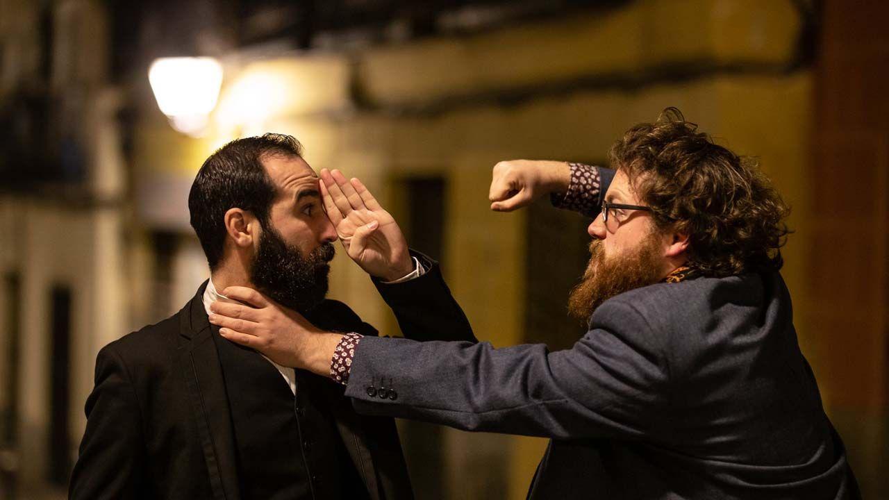 Pedro Chillón y Arturo Pueyo (Mundo Chillón). Fotografía Javier Jimeno Maté