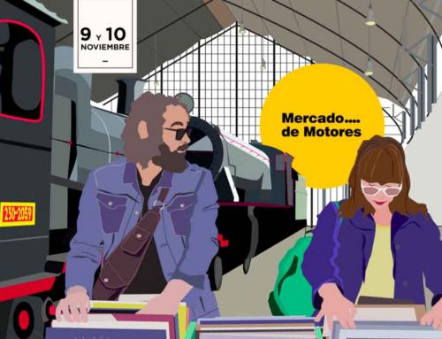 Mercado de Motores, artesanía y diseño en Madrid