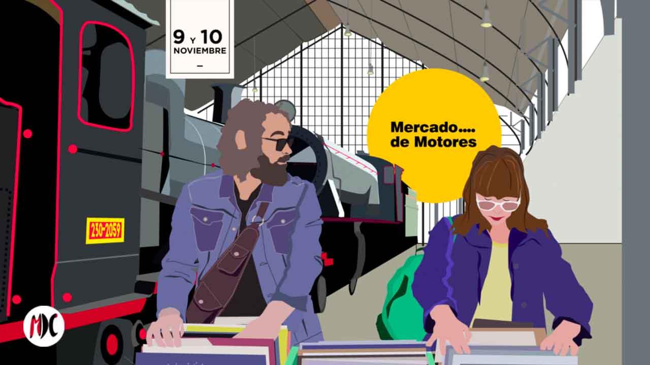 Mercado de Motores, Mercado de Motores, artesanía y diseño en Madrid