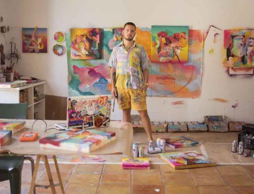 Misterpiro: «Tengo el sueño de pintar un barco para echarlo al agua»