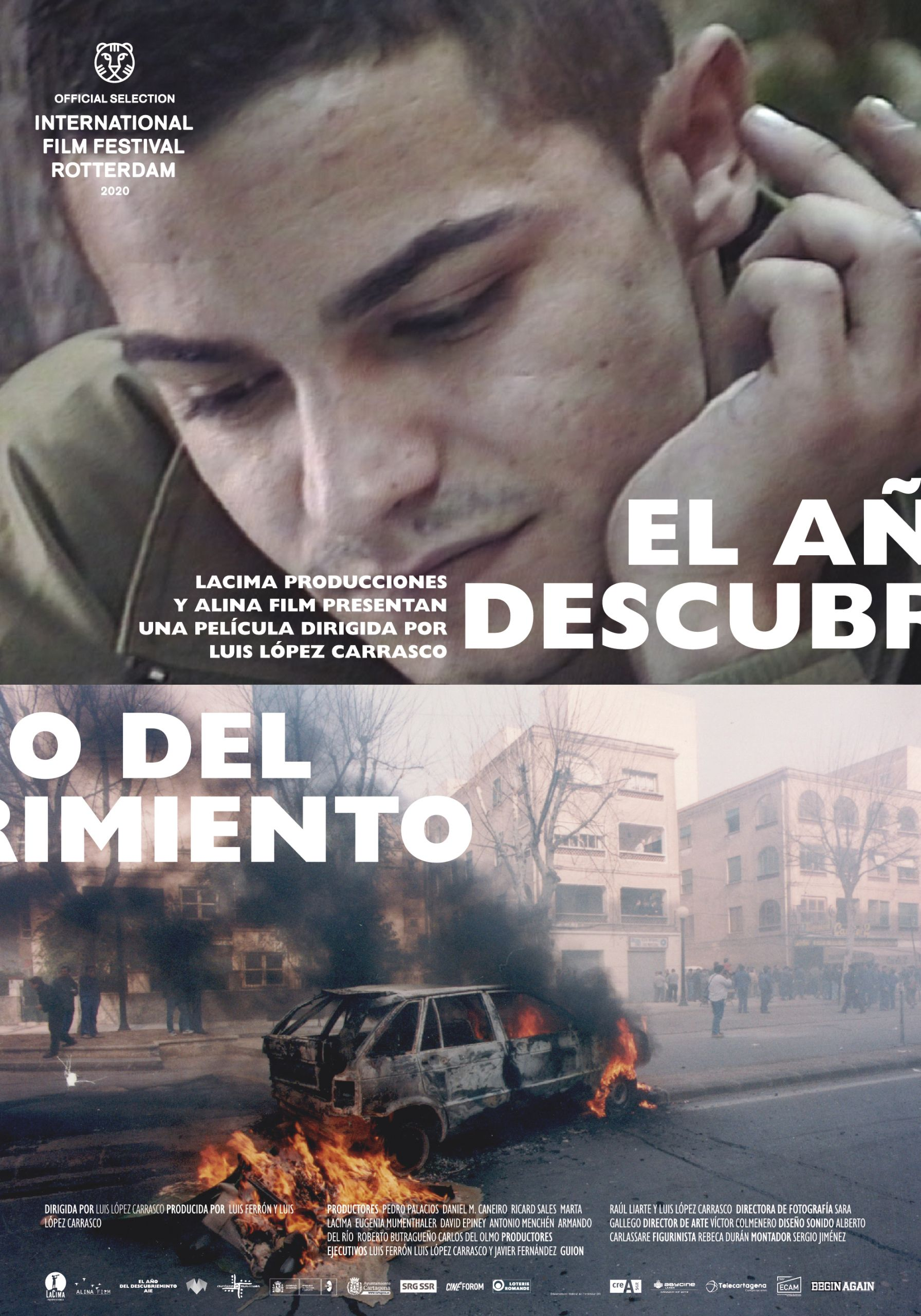 El año del descubrimiento, La película española «El año del descubrimiento» competirá en Rotterdam