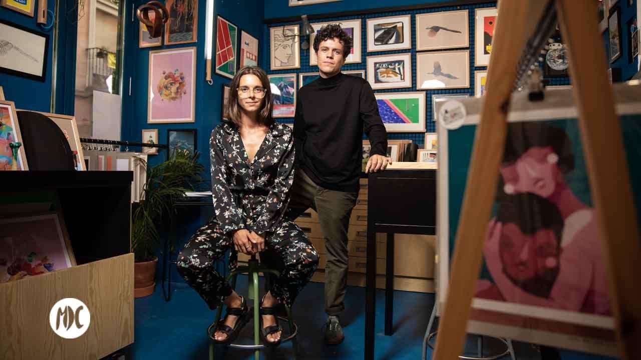 Manuela Medina y Pablo Méndez (La causa). Fotografia: Carlos Pina