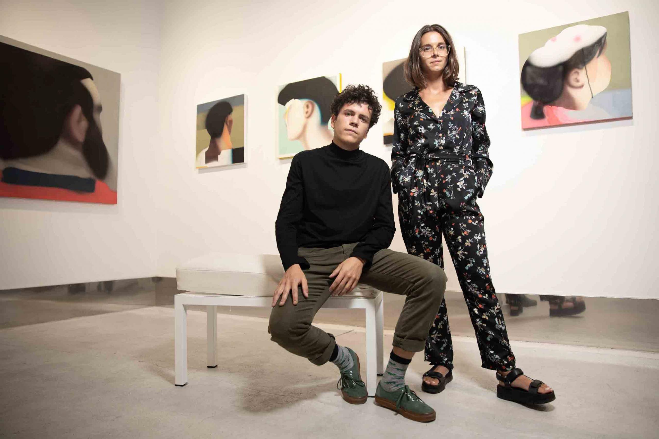 Pablo Méndez y Manuela Medina. Fotografia Carlos Pina