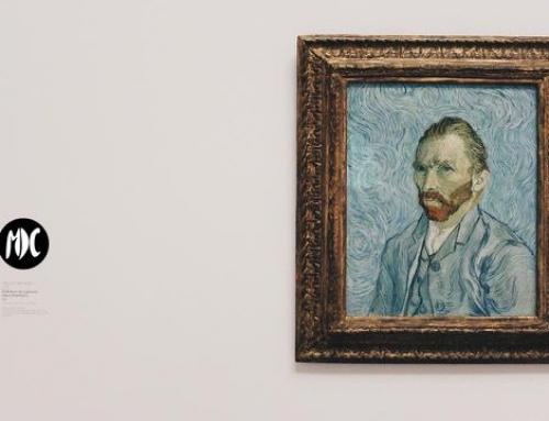 Adéntrate en el cielo de la noche estrellada de la mano Van Gogh