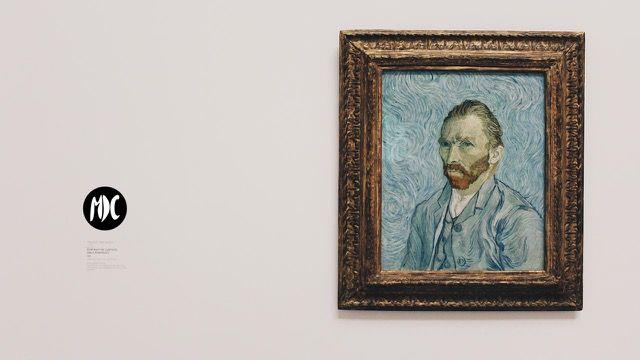 van gogh, Adéntrate en el cielo de la noche estrellada de la mano Van Gogh