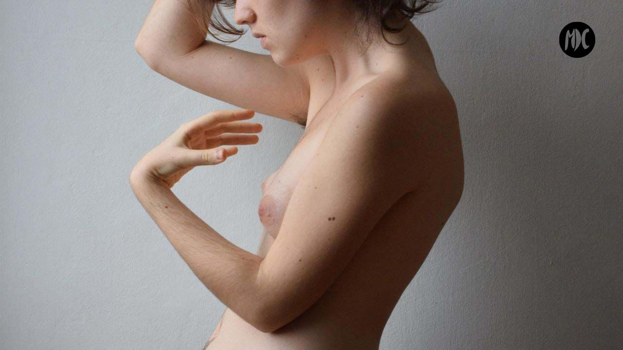 Marina Yvette. Autorretrato.